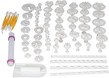 Stampo decorativo, 68 pezzi Set di strumenti per