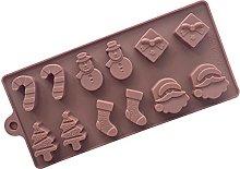 Stampo decorativo per torta di cioccolato in