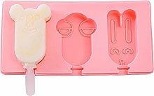 Stampo del gelato del silicone con il coperchio