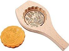 Stampo in legno Mooncake Stampo per pasticceria