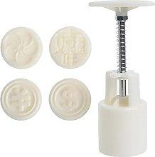 Stampo in plastica Mooncake da 30 g, per biscotti,