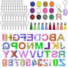 Stampo in resina alfabeto, resina in resina in