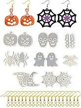Stampo in resina epossidica di Halloween, con kit
