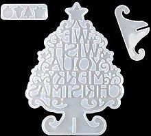 Stampo in resina epossidica per albero di Natale,