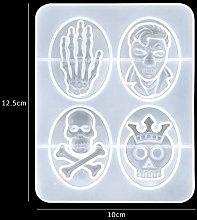 Stampo in resina in silicone, decorazione di