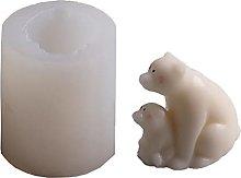 Stampo in silicone 3D con fiori di lavanda, in