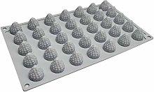 Stampo in silicone 3D con fragole e arachidi di
