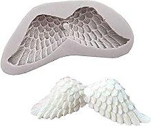 Stampo in silicone a forma di ali d'angelo,
