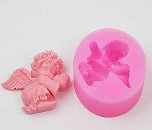 Stampo in silicone a forma di angelo, per