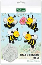 Stampo in silicone a forma di api Zuzz & Friends