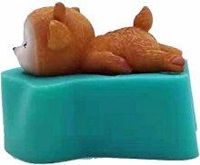 Stampo in silicone a forma di cervo addormentato