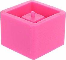 Stampo in silicone a forma di cubo, vaso di