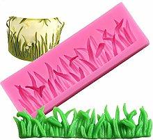 Stampo in silicone a forma di erba per decorazione