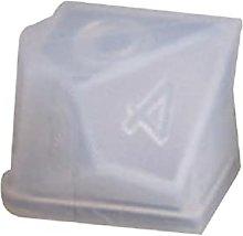 Stampo in silicone a forma di filetto di cristallo