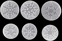 Stampo in silicone a forma di fiocco di neve per