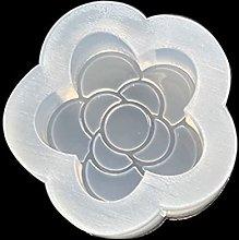 Stampo in silicone a forma di fiore, in resina