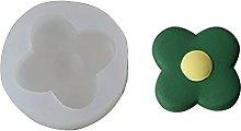 Stampo in silicone a forma di fiore in resina