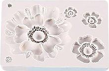 Stampo in silicone a forma di fiore, per