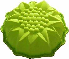 Stampo in silicone a forma di fiore, per torte,