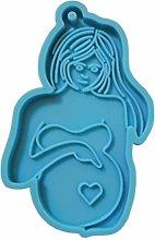 Stampo in silicone a forma di mamma che allatta,