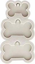 Stampo in silicone a forma di medaglietta per