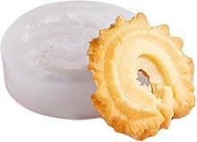 Stampo in silicone a forma di Oreo per biscotti e