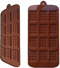 Stampo in silicone al cioccolato Fudge Pasticceria