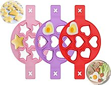 Stampo in Silicone Antiaderente,3 Pack Pancake