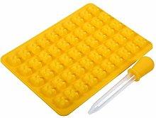 Stampo in silicone antiaderente a forma di orso 50