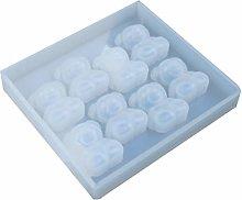 Stampo in silicone con ciondolo per aromaterapia,