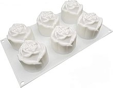 Stampo in silicone DealMux per torte, rose, fiori,