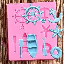 Stampo in silicone fai da te per decorare torte e