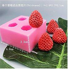 Stampo in silicone Frutta alla fragola stampo in