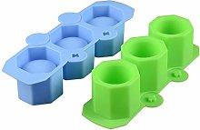 Stampo in silicone geometrico poligonale in