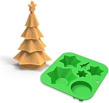 Stampo in silicone natalizio, stampo per caramelle