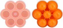 Stampo in silicone per alimenti e congelatore, per