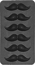 Stampo in silicone per barba baffi, omino tema