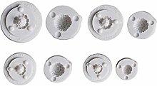 Stampo in silicone per biscotti alla frutta del