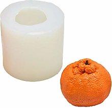 Stampo in Silicone Per Candela Di Frutta Arancione
