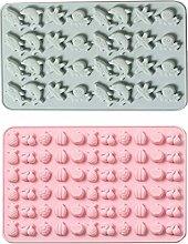 Stampo in silicone per caramelle, 2 stampi per