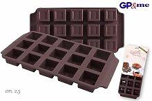 Stampo in Silicone per Cioccolatini Quadrati -