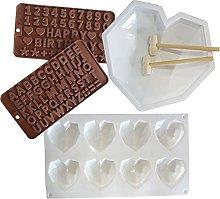 Stampo in silicone per cioccolatini San Valentino