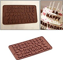 Stampo in silicone per cioccolato con lettera