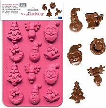 Stampo in silicone per cioccolato – Natale (12
