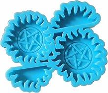 Stampo in silicone per decorazione torte blu