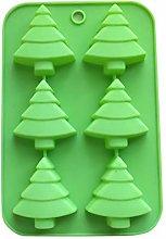 Stampo in silicone per dolci a forma di albero di