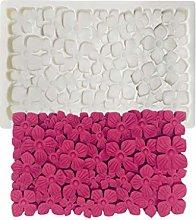 Stampo in silicone per fiori con bordo a chiodo