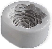 Stampo in silicone per fiori di peonia grande 3D