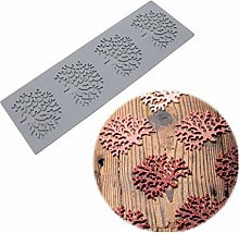 Stampo in silicone per foglie di fondente per