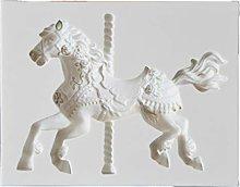 Stampo in silicone per fondente a forma di cavallo